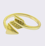 Simple Arrow Wrap Ring - My Jewel Candy - 2