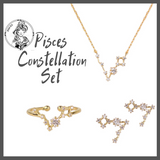 Pisces Zodiac Jewelry Constellation Holiday Gift Set