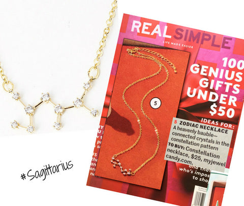 Constellation Zodiac Necklaces - As seen in Real Simple & People Magazine - My Jewel Candy - 1