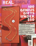 Virgo Celestial Constellation Zodiac Necklace (08/23-09/23) - As seen in Real Simple & People Magazine - My Jewel Candy - 2