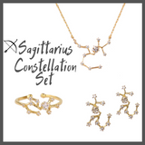 Capricorn Zodiac Jewelry Constellation Holiday Gift Set