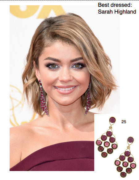 Sarah Highland's Emmy Celebrity Style for Less - My Jewel Candy