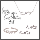 Scorpio Zodiac Jewelry Constellation Holiday Gift Set