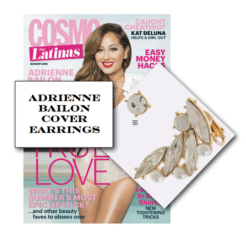 Adrienne Bailon Cover Earrings - My Jewel Candy