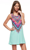 All Eyes on Me Dress (Mint) - My Jewel Candy - 1
