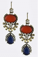Multi-Jeweled Earrings - My Jewel Candy