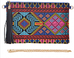 Abstract Aztec Clutch - My Jewel Candy