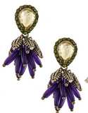 Cluster Drop Earrings - My Jewel Candy - 1