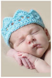 Crochet Newborn Baby Crown Costume - My Jewel Candy - 1