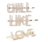 """The Dorit"" Crystal Bobby Pins"