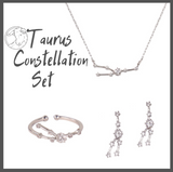Taurus Zodiac Jewelry Constellation Holiday Gift Set