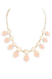 Beige Round and Teardrop Necklace - My Jewel Candy - 4