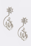 Curved Anchor Earrings - My Jewel Candy - 2