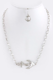 Side Anchor Chain Necklace - My Jewel Candy - 2