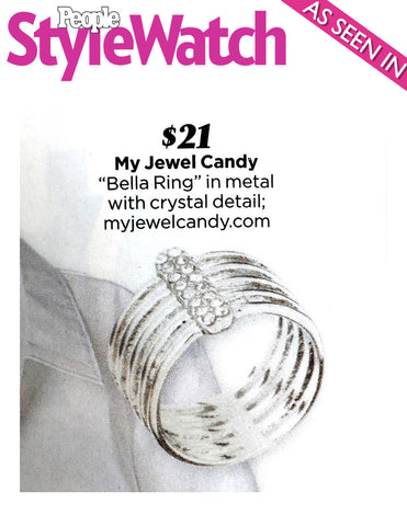 The Bella Ring (Jada Pinkett Smith's look in People Style Watch) - My Jewel Candy - 1