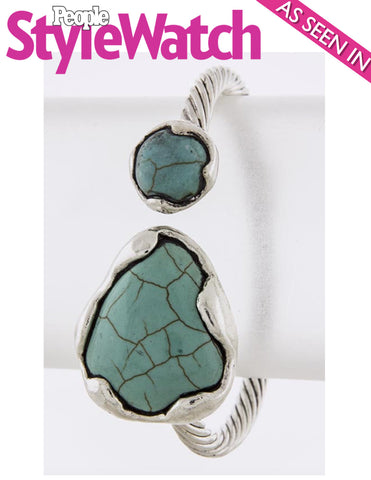 Wild West Cuff Bracelet (As seen in People Stye Watch Magazine) - My Jewel Candy - 1