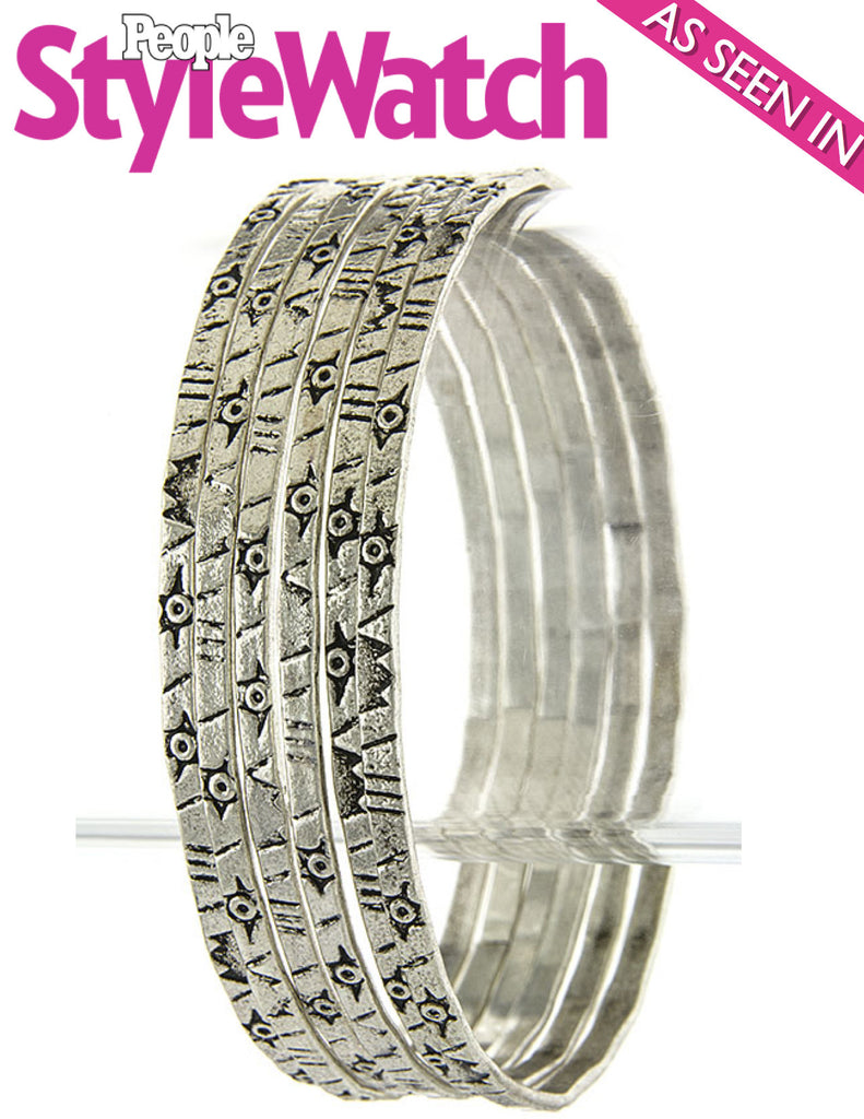 Mrs. Bo Bangles Bracelet (As seen in People Stye Watch Magazine) - My Jewel Candy - 1