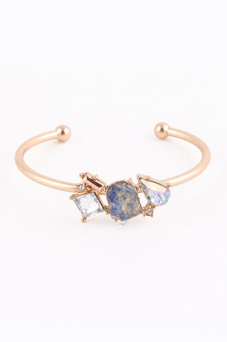 Sweet Tooth Cuff Bracelet (Indigo) - My Jewel Candy - 5