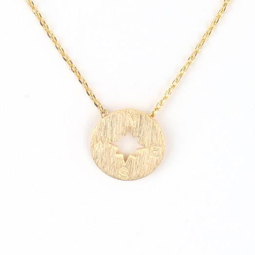 Wanderlust Necklace (Gold)