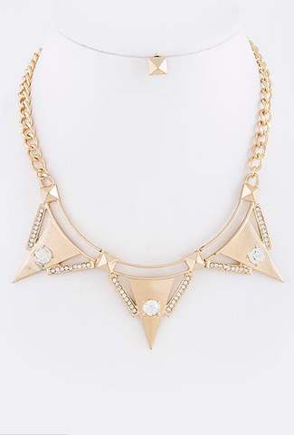 Triangle Elite Necklace - My Jewel Candy