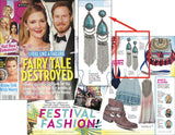 Boho Chic Earrings (As seen in Us Weekly) - My Jewel Candy - 3