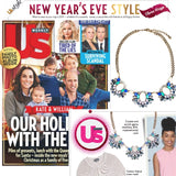 The New Years Eve Necklace (Seen in Us Weekly Magazine) - Blue Shades