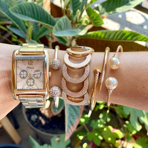 """Watch Out"" Arm Candy Set"