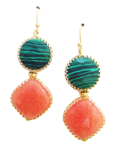 Watermelon Sorbet Earrings - My Jewel Candy
