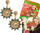 Sunburst Earrings (As seen in Woman's Day) - My Jewel Candy - 1