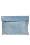 Denim Roll-Over Clutch Bag - As seen in People Style Watch - My Jewel Candy - 2