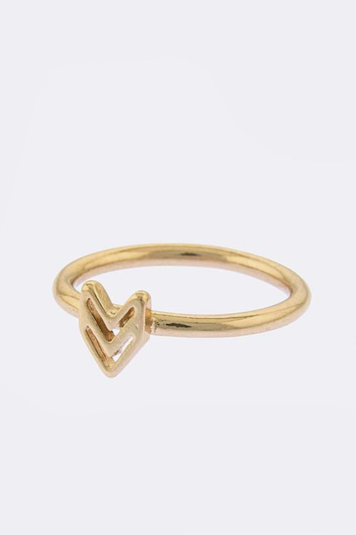 Arrow Knuckle Ring - My Jewel Candy - 1