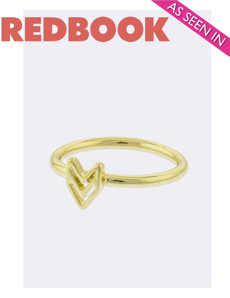 Arrow Ring (As seen in Redbook Magazine) - My Jewel Candy