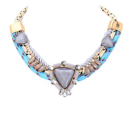 Blue Lagoon Necklace - My Jewel Candy