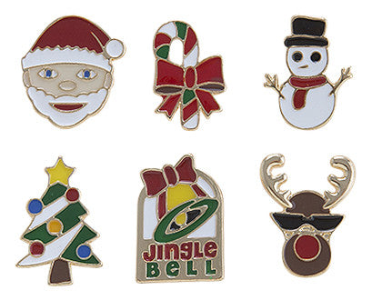 Christmas Enamel Pin Set - My Jewel Candy - 1