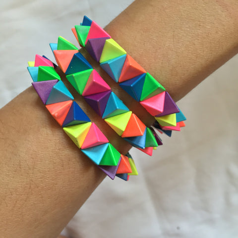 coloured spike2 Bracelet - My Jewel Candy
