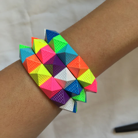 coloured spike3 Bracelet - My Jewel Candy