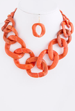 Coral Chain Necklace - My Jewel Candy - 1