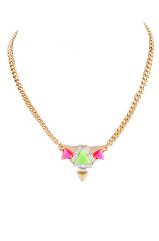"""Summer in Ibiza"" Necklace (Lime-Ricki) - My Jewel Candy - 1"