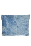 Denim Roll-Over Clutch Bag - As seen in People Style Watch - My Jewel Candy - 6