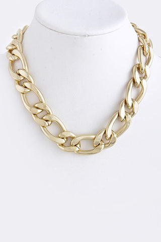 fb ALTERNATE CHAIN LINK NECKLACE - My Jewel Candy