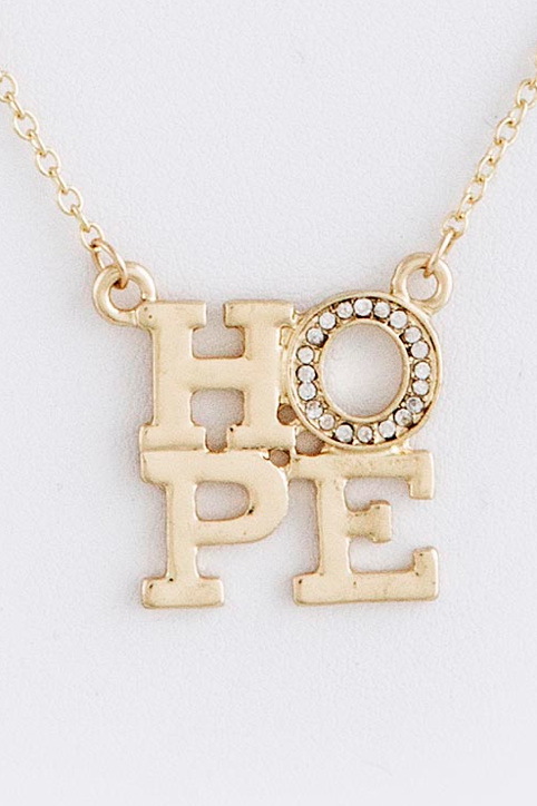 Hope Necklace - My Jewel Candy