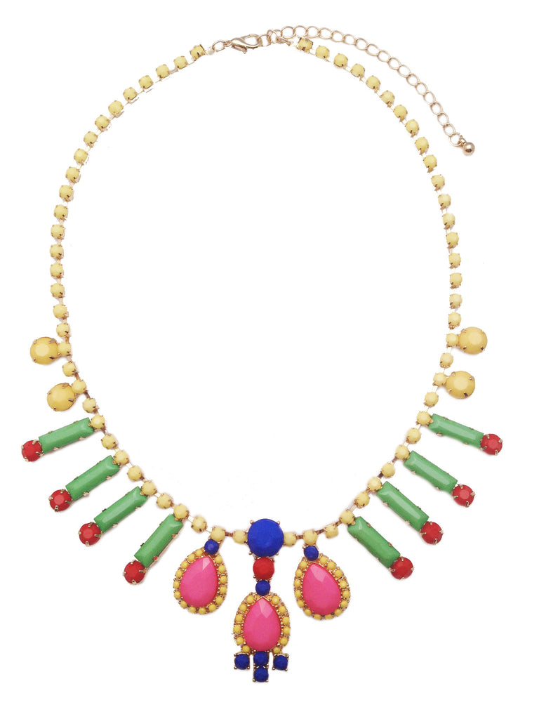 Multi Colored Candy Necklace - My Jewel Candy