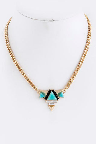 """Summer in Ibiza"" Necklace (Turquoise) - My Jewel Candy - 1"
