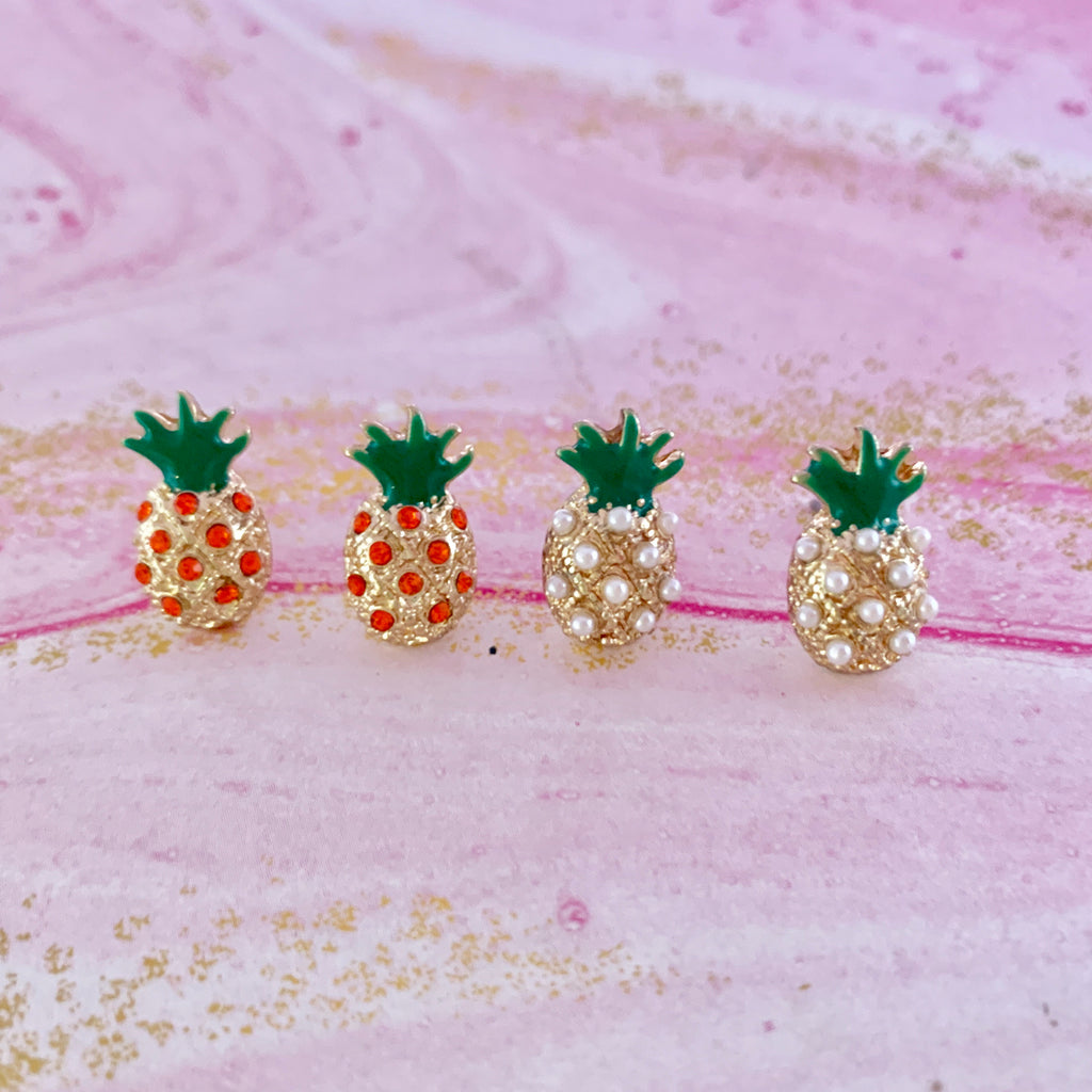 Pineapple Earrings 🍍