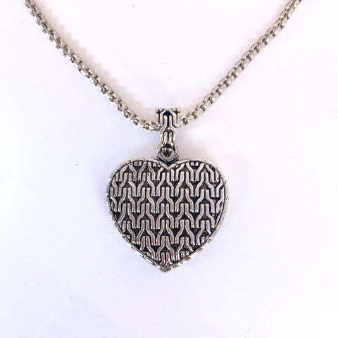 Silver Heart Pendant Necklace❤️