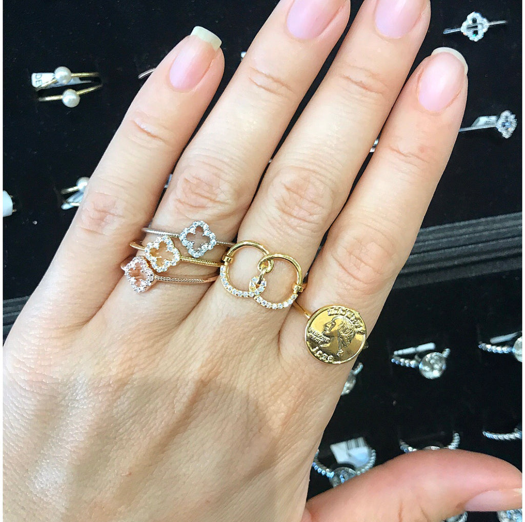 💍Cute Stack Rings💍