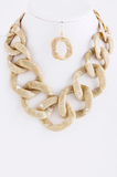 Coral Chain Necklace - My Jewel Candy - 3