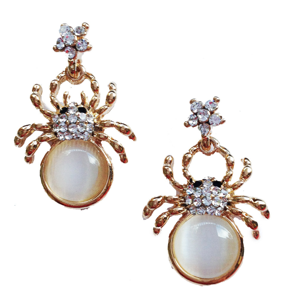 Spider Earrings (As Seen In People Style Watch) - My Jewel Candy - 1