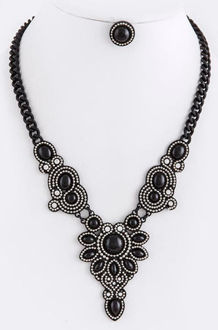 Midnight-in-Paris Necklace - My Jewel Candy