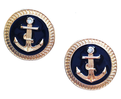 Nautical Stud Earrings - My Jewel Candy